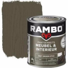 Rambo Pantserbeits Meubel & Interieur - 750ml - Riet Groen 0743