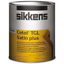 Sikkens Cetol TGL Satin Plus - 1 liter