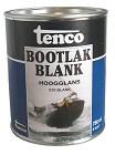 Tenco Bootlak Hoogglans - 750ml - Blank 910
