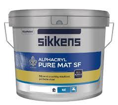 Sikkens Alphacryl Pure MAT SF - 10 liter
