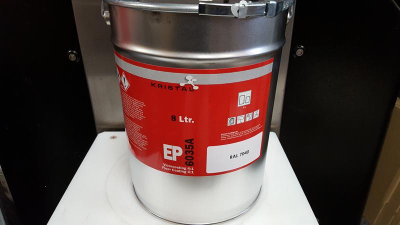 Epoxy Vloercoating - 10 ltr  - RAL 7040