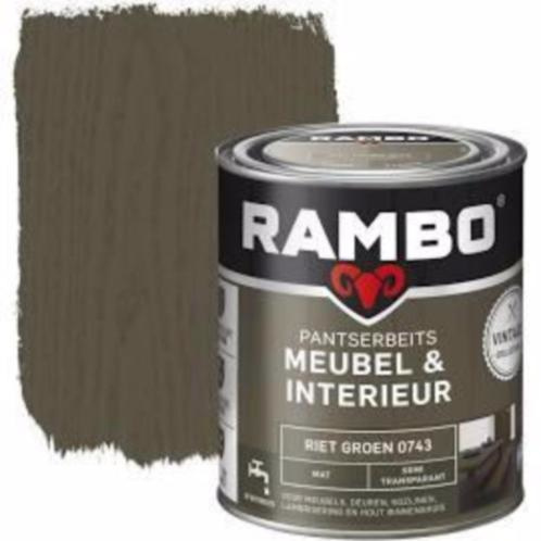 Rambo Pantserbeits Meubel & Interieur - 750ml - Riet Groen 0743