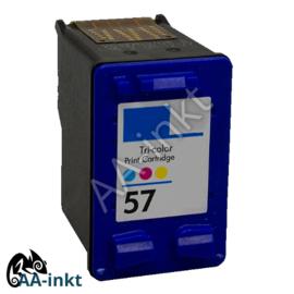 HP 57 huismerk AA-inkt kleur