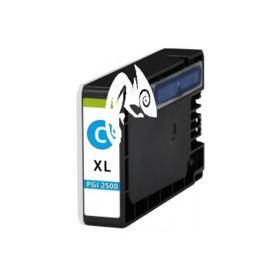 Canon 2500XL PGI 2500XL huismerk aa-inkt cyaan met chip