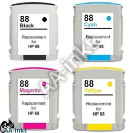 HP 88XL huismerk AA-inkt set
