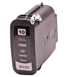 HP 10 huismerk inkt zwart 69 ml met chip
