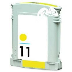HP 11 huismerk inkt geel 29 ml met chip