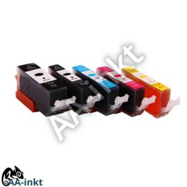 Canon PGI 570XL+CLI 571XL huismerk AA-inkt set