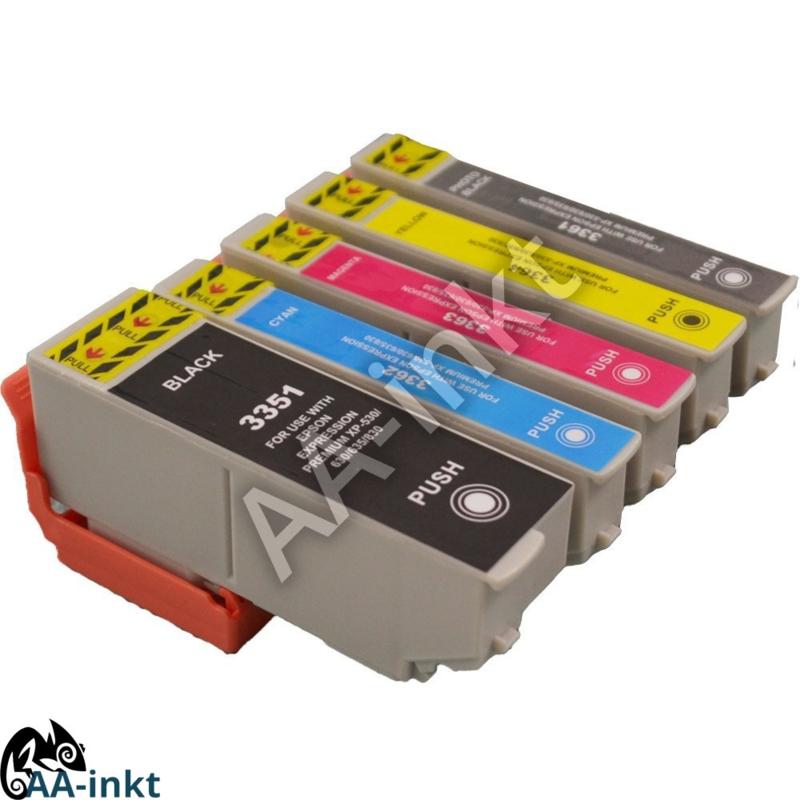 Epson 33 huismerk AA-inkt set