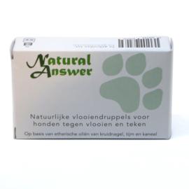 Natuurlijke vlooiendruppels voor de hond