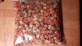 Groenten- fruit en kruidenmix 1 kg gedroogd