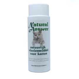 Natuurlijk antivlooien- en tekenmiddel kat