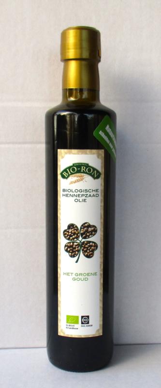 Bio Hennepzaad olie 0,5 ltr