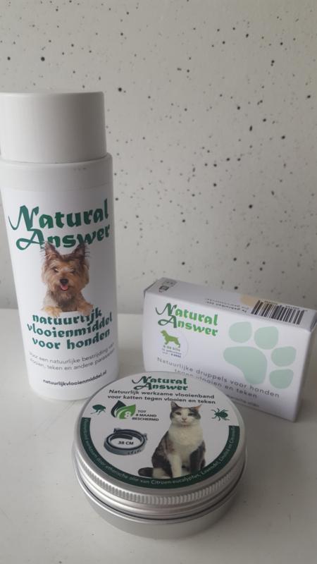 Natuurlijk vlooienmiddel voor honden en katten