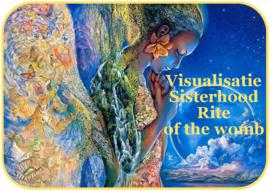 Visualisatie Sisterhood Rite of the womb