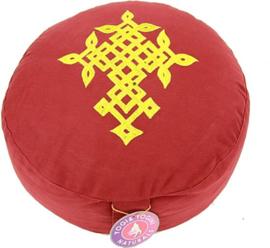 Meditatie Kussen Rond Levensbloem