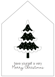 INKOOP -  WOONHUISJE   Kerstboom