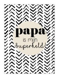KAART | Papa is mijn superheld