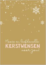 KERSTKAART| Mooie en liefdevolle kerstwensen