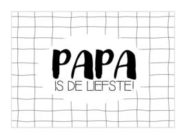 KAART | Papa is de liefste