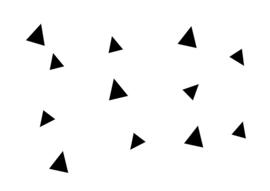 STICKERS | Driehoekjes
