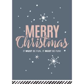 KERSTKAART  | Merry Christmas