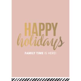 KERSTKAART  | Happy Holidays