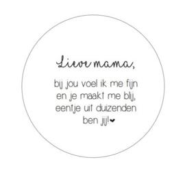 WOONCIRKEL | Mama - 20 cm