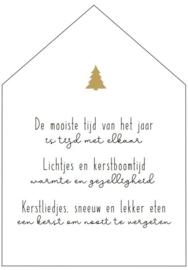 WOONHUISJE XL | Kerst gedicht