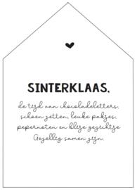 INKOOP - WOONHUISJE   Sinterklaas gedicht