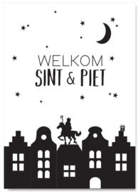 POSTER A4 | Welkom Sint & Piet