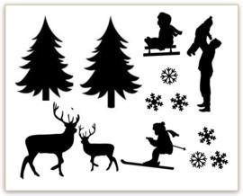 RAAMSTICKERS   Uitbreiding Winter