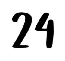 Voordeursticker | Huisnummer