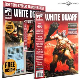White Dwarf Magazine issue 465
