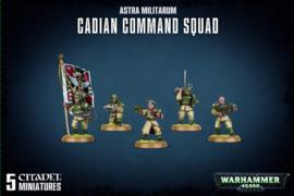 Warhammer 40,000 - Astra Militarium - Cadian Command Squad