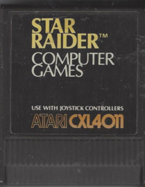 Atari 800 Star Raiders (CXL4011)