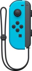 Joy Con controller Neon Blauw (Links)