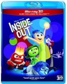 Inside out (Binnenstebuiten) (Blu-ray + 3D Blu-ray)