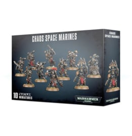 Warhammer 40,000 Chaos space marines - 10 minatures