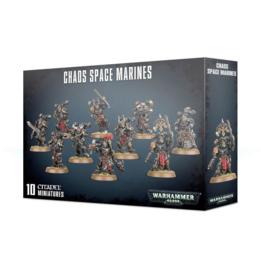 Warhammer 40,000 Chaos space marines - 10 minatures