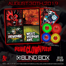 "Insane Clown Posse - West vernor Ave (3"" vinyl)"