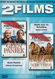 2 Films op 1 DVD - Geen paniek - Naakt over de schutting