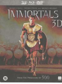 Immortals 3D (DVD, Blu-ray & 3D Blu-ray) (Steelcase)