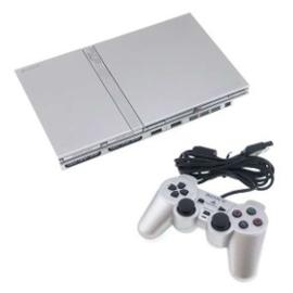 PS2 Console silver (Slim)
