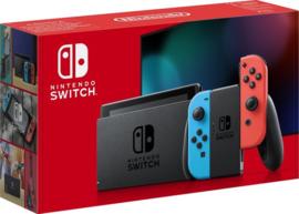 Nintendo Switch Rood/Blauw - Nieuw Model - met verbeterde accuduur