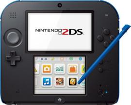 2DS Zwart/Blauw Console