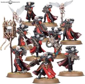 Warhammer 40,000 Adepta Sororitas - Battle sisters squad