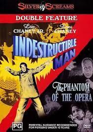 Indestructible man (1956) /Phantom of the opera (1925)