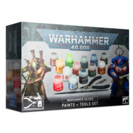 Warhammer 40,000 - Paints + Tools set