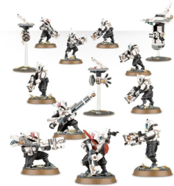 Warhammer 40,000 - tau Empire - Pathfinder team